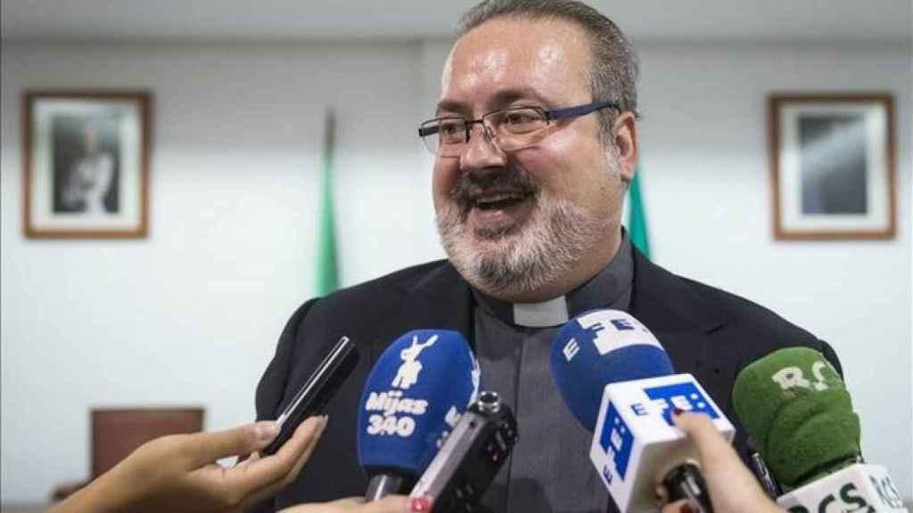Ramón Tejero, el párroco de la Iglesia de Totalán (Málaga)