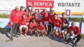 El Benfica femenino gana 32-0. Foto: slbenfica.pt