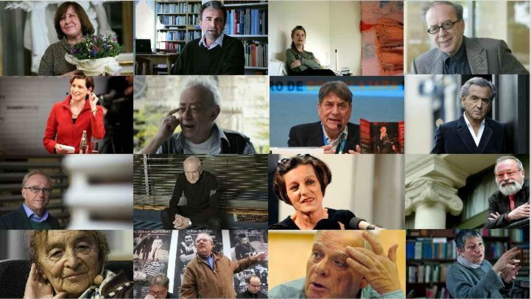 Quiénes son los 30 intelectuales firmantes del manifiesto