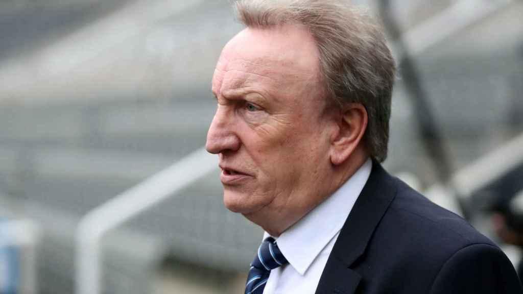 Neil Warnock, entrenador del Cardiff