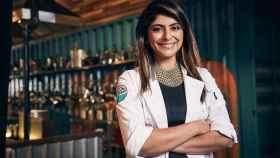 Fatima Ali en una imagen del concurso 'Top chef'.