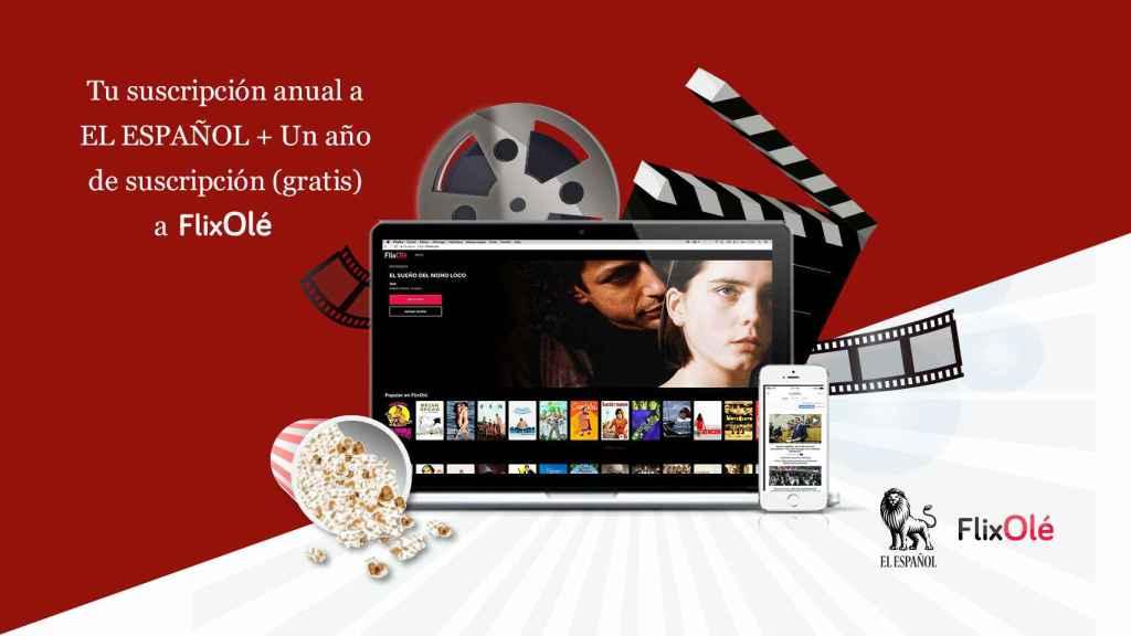 Ahora suscribiéndote a EL Español, tienes un año de FlixOlé gratis.