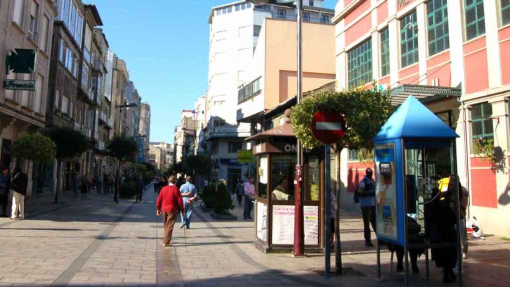 Barrio de O Calvario, Vigo, donde José Antonio perpetra sus ataques a vehículos.