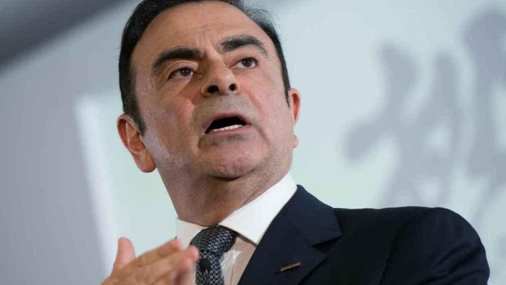 El expresidente de Nissan Carlos Ghosn