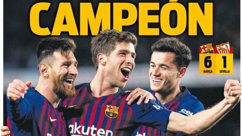 Portada Sport (31/01/2019)