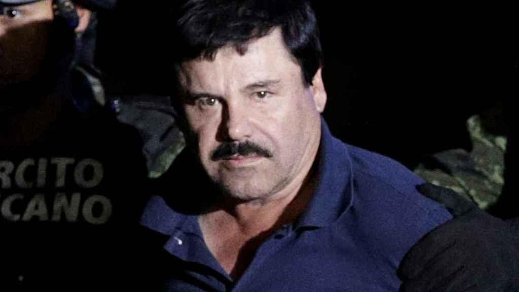 'El Chapo' Guzmán en una de sus imágenes bajo custodia policial en EEUU.