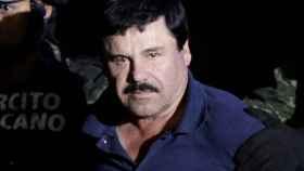 El Chapo Guzmán, detenido por la Policía.