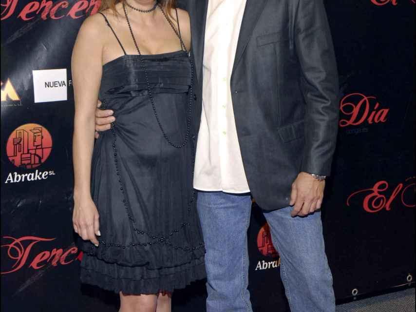 Gema López, junto a su exmarido, Antonio Pardo Sebastián.
