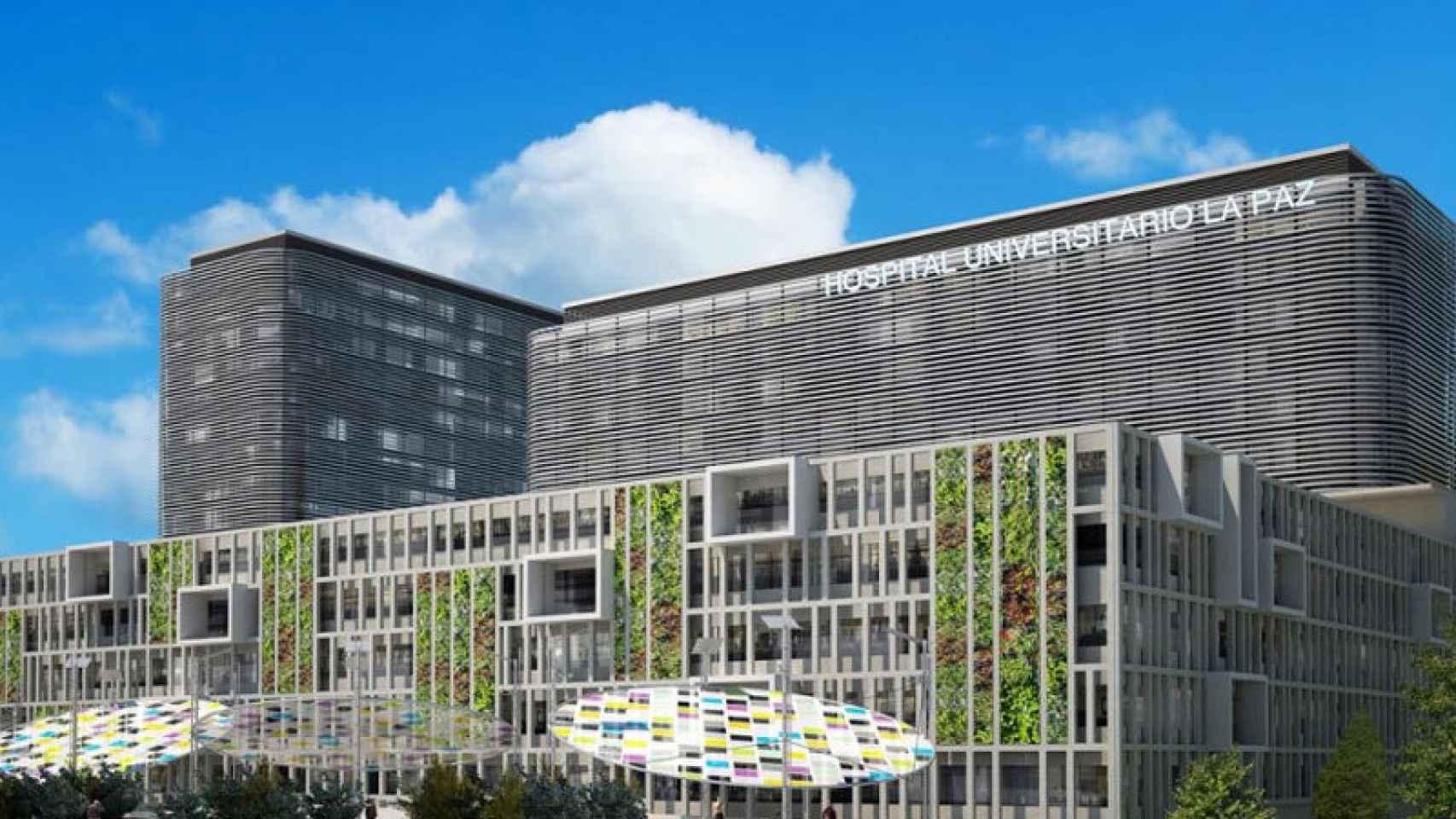 Así será el nuevo Hospital Universitario La Paz de Madrid.