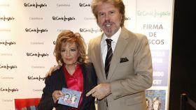 María Teresa Campos junto a Edmundo en la firma de discos que celebraron el año pasado.