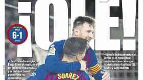 Portada Mundo Deportivo (31/01/19)
