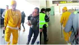 Neymar estalla cuando le preguntan por el Barça: No me toques los cojones