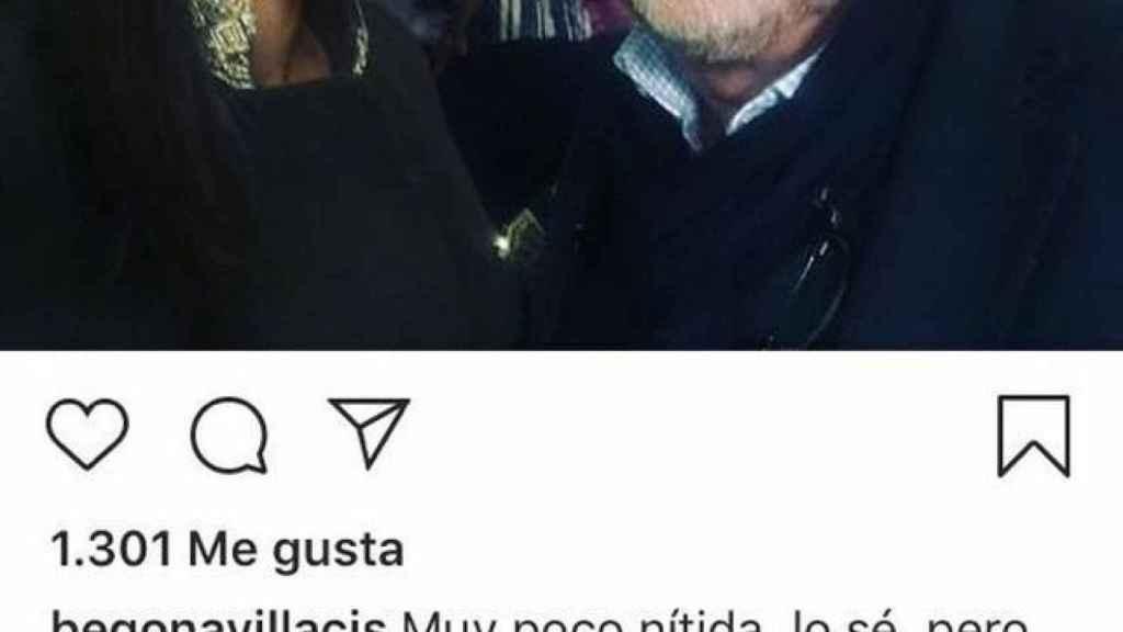 La foto del Instagram de Villacís.
