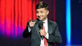 El cómico y actor Volodymyr Zelensky.