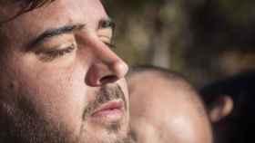 Padre de Julen emocionado tras hablar con el padre de Mari Luz Cortés.