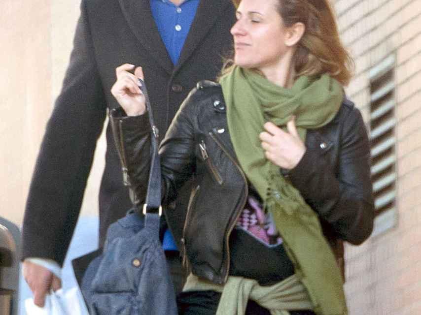 Pablo Chiapella y Natalia en una imagen de archivo.