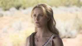 Wood interpretando a Dolores en 'Westworld'.