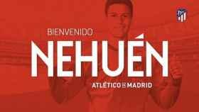 El Atlético ficha a Nehuén, procedente del Atlético Juniors