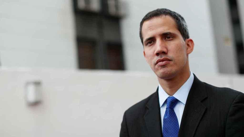 Guaidó presenta un plan integral para impulsar social y económicamente  Venezuela