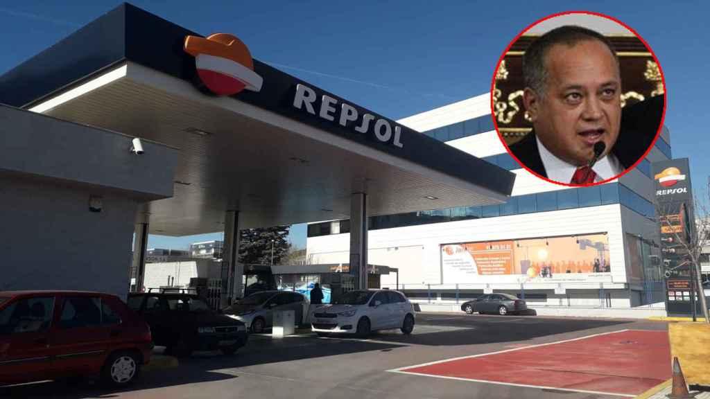 La gasolinera de Alcobendas del primo de Diosdado Cabello.
