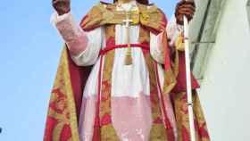 San Blas, patrón de los enfermos de garganta y de los otorrinolaringólogos