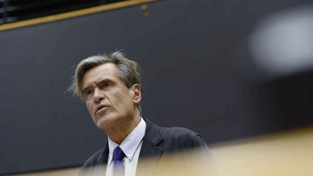 Juan Fernando López Aguilar, diputado del PSOE en el Parlamento Europeo