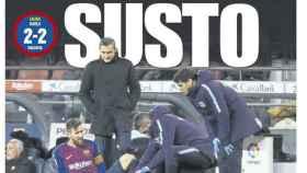 Portada del diario Mundo Deportivo (03/02/2019)