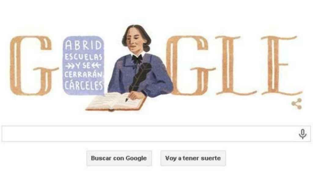El 31 de enero de 2015 Google recordó a la escritora dedicándole su 'doodle'
