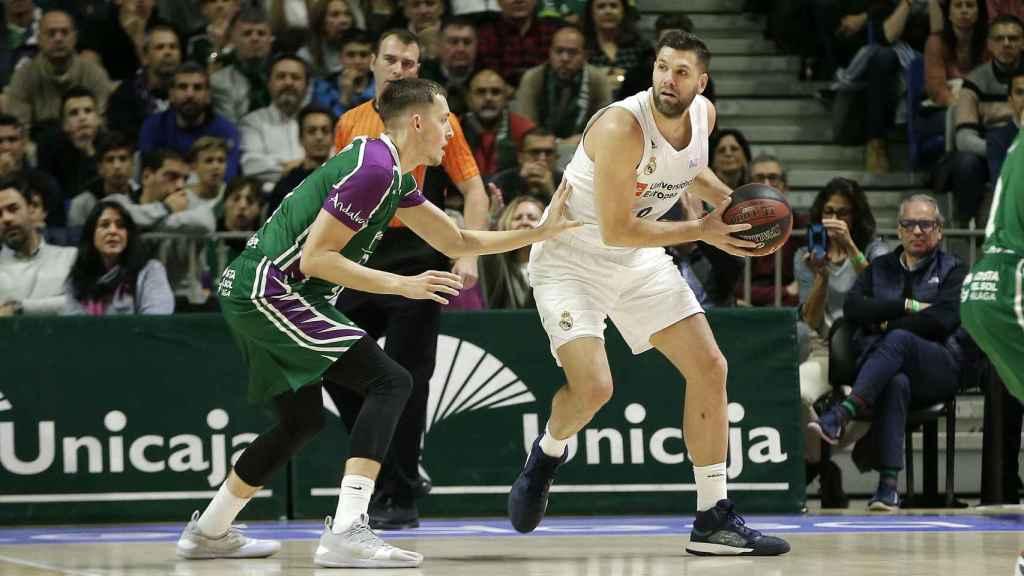 Felipe Reyes, en su partido más importante en Liga ACB. Autor: ACB.