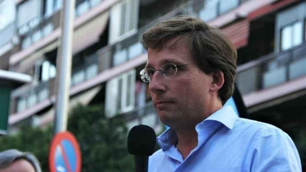 El candidato del PP a la alcaldía de Madrid, José Luis Martínez-Almeida.
