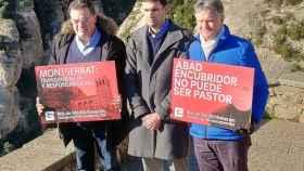 Cuatrecasas, Saunders y Hurtado, presuntas víctimas de abusos ante el monasterio de Montserrat.