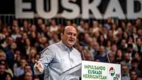 El presidente del PNV, Andoni Ortuzar.