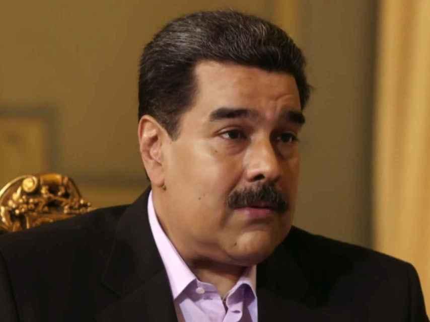 Nicolás Maduro, durante la entrevista con Jordi Évole.