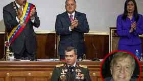 Nicolás Maduro, Diosdado Cabello, Gladys Gutiérrez y Vladimir Padrino López. Abajo, Carlos Malo de Molina