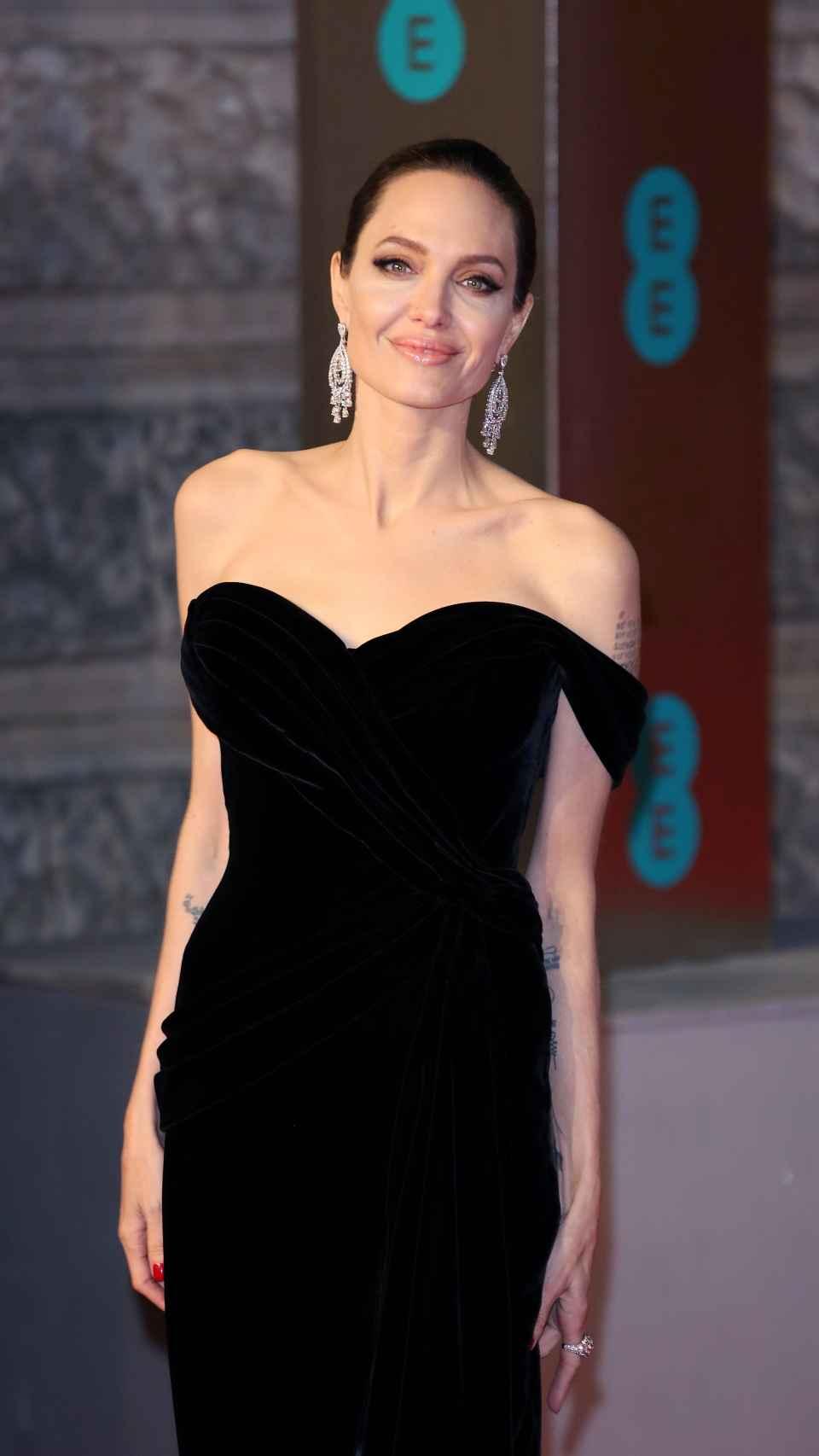 Angelina Jolie en una imagen de archivo.