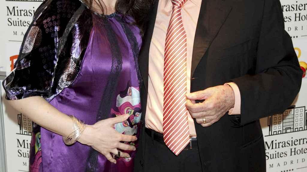 Manolo Escobar junto a su hija Vanessa.