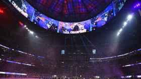 New England Patriots celebra la victoria en la Super Bowl