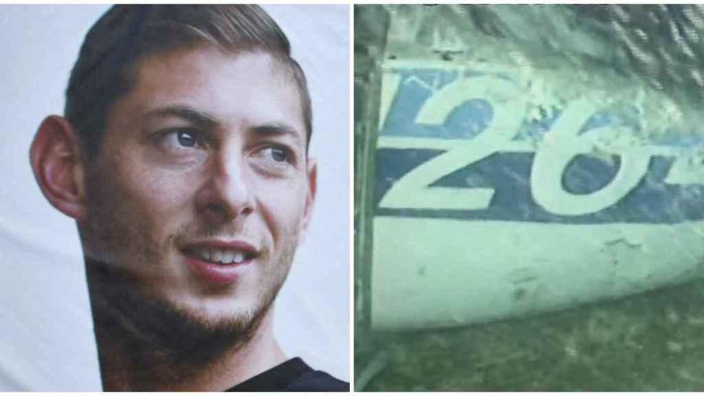 Emiliano Sala y los restos del avión encontrado