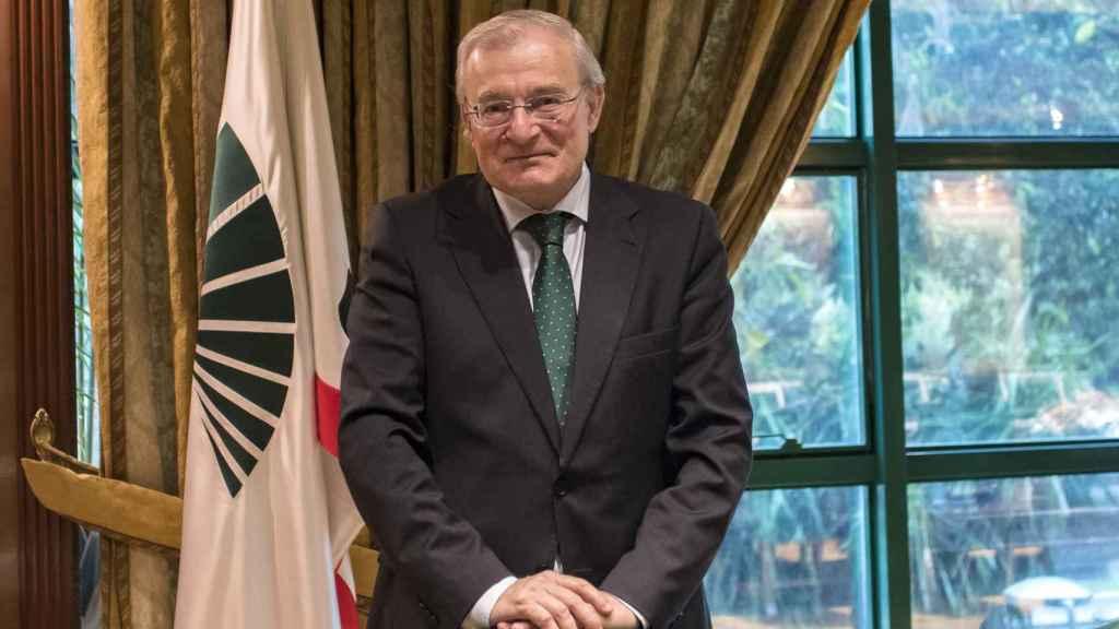 Manuel Azuaga, presidente de Unicaja Banco.