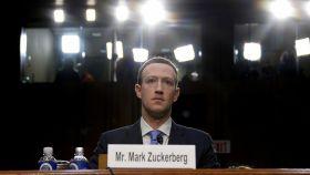 Mark Zuckerberg comparece ante el Senado de EEUU.