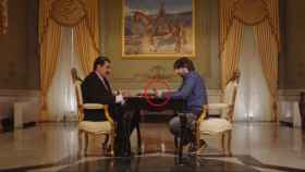 Jordi Évole llama a Juan Guaidó en presencia de Nicolás Maduro / La Sexta.
