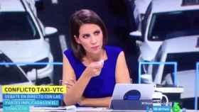 La pillada de Ana Pastor al representante de los taxistas que decía que aún se podía pedir Cabify en Barcelona