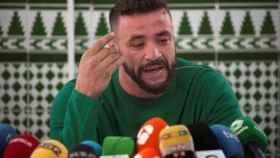 David Serrano, dueño de la finca en la que murió Julen, compareció este pasado martes ante los medios de comunicación en Málaga.