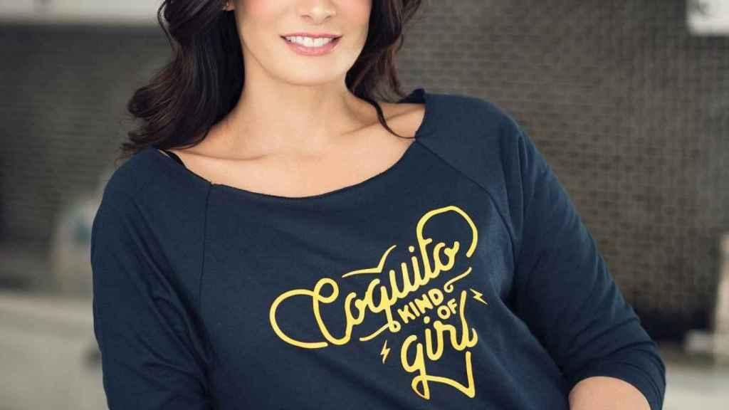La actriz y modelo Dayanara Torres.