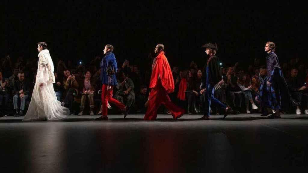 Desfile de Palomo Spain en la New York Fashion Week.