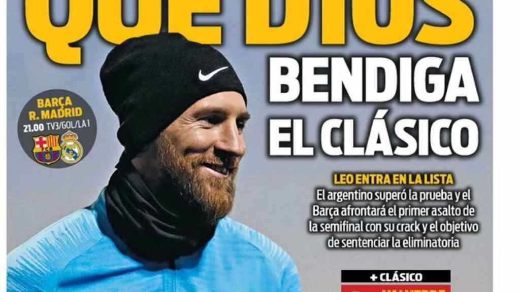 La portada del diario Sport (06/02/2019)