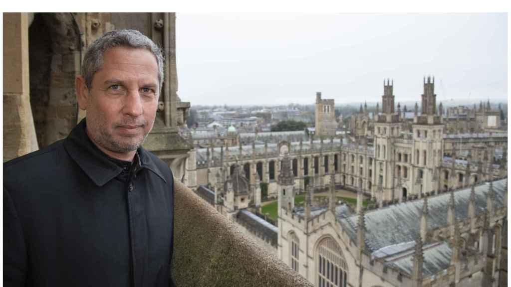 Guillermo Martínez en Oxford.