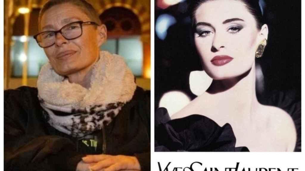 Nastasia Urbano, antes y después.