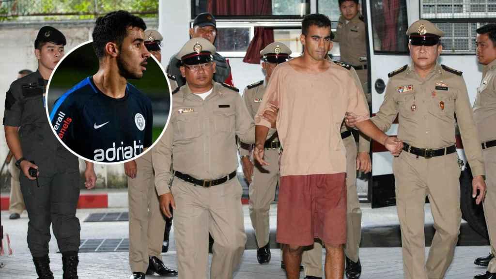 Hakeem Al-Araibi, tras ser detenido en Tailandia