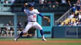 Un jugador de los Dodgers. Foto: Twitter (@kikehndez)